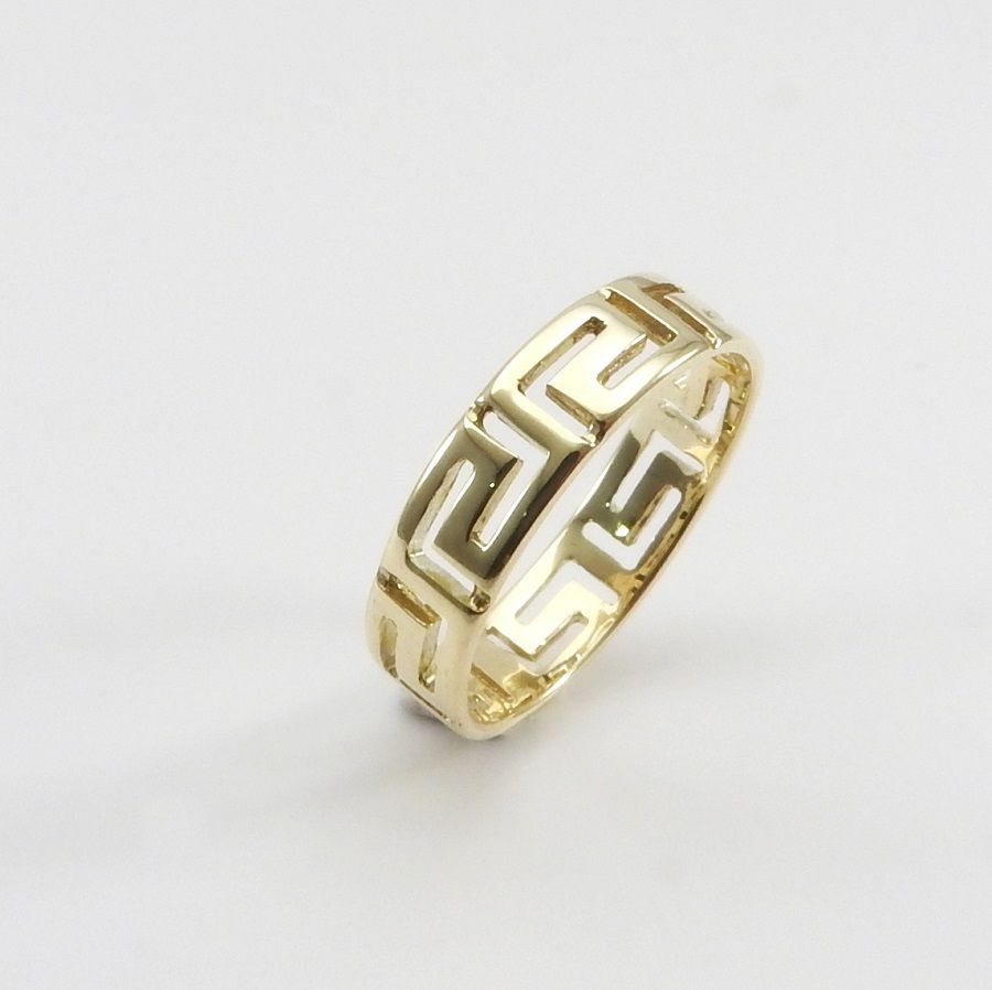 rings key yellow ring wedding design gold greek