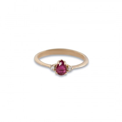 pinkgold-solitaire-ring-ruby-pear-shape